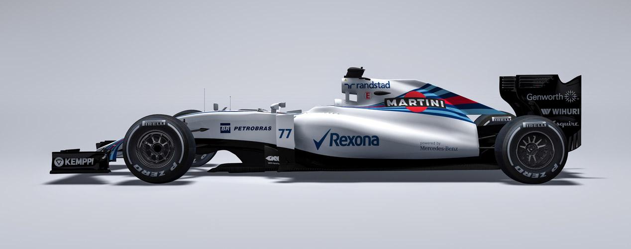 Así son los monoplazas de la Fórmula 1 2015
