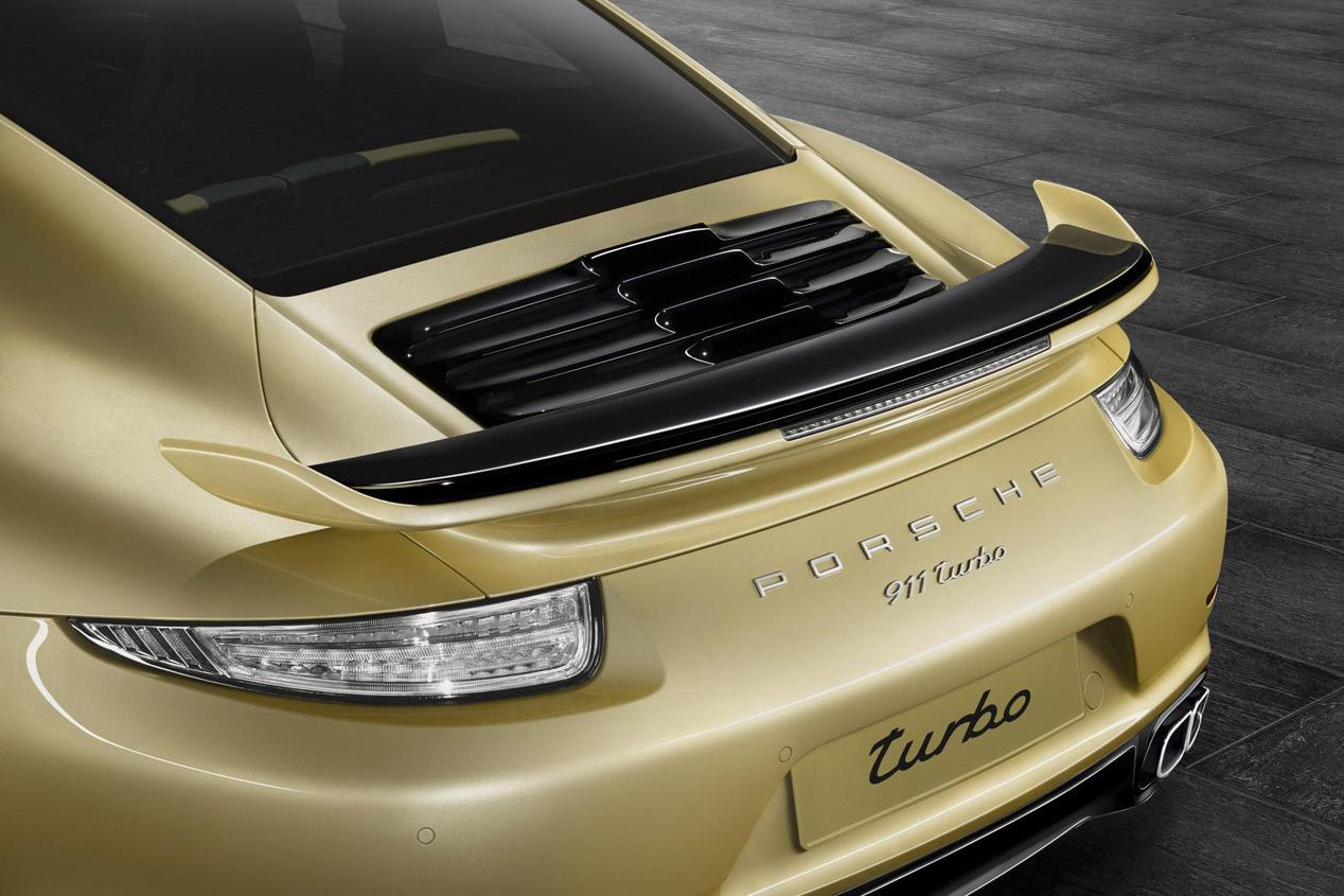 Porsche 911 Turbo y Turbo S Aerokit