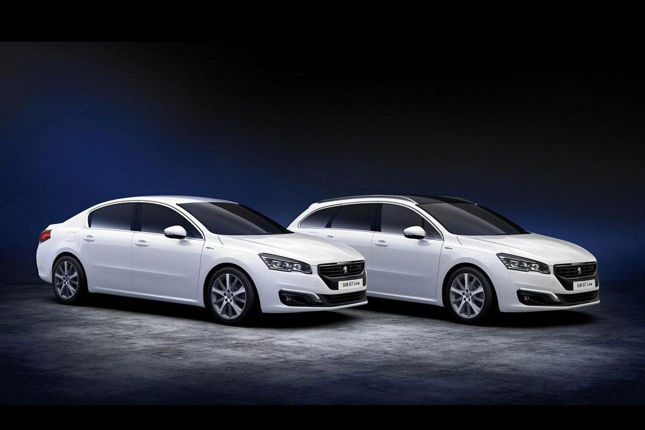 Peugeot 308 y 508 GT Line