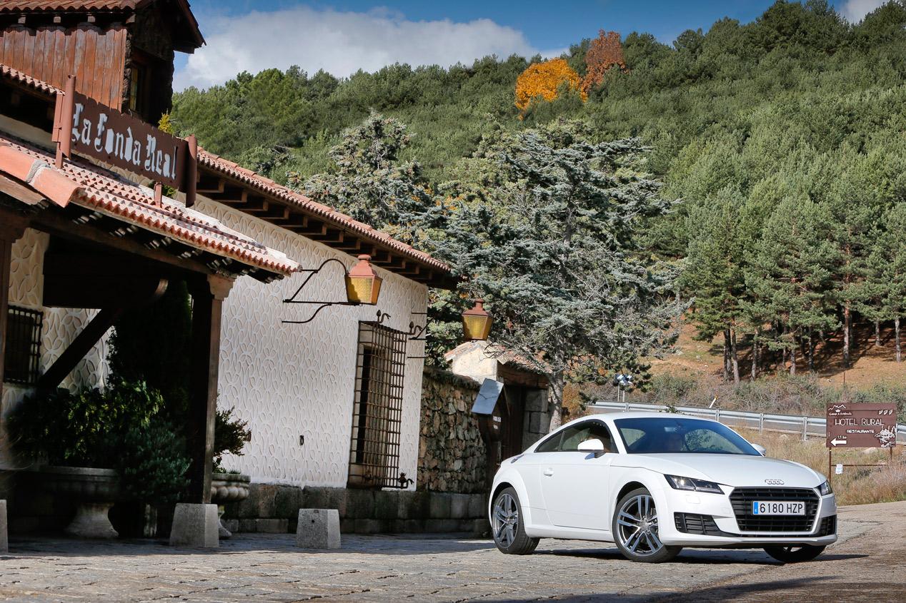 Prueba: Audi TT Coupé 2.0 TDI Ultra