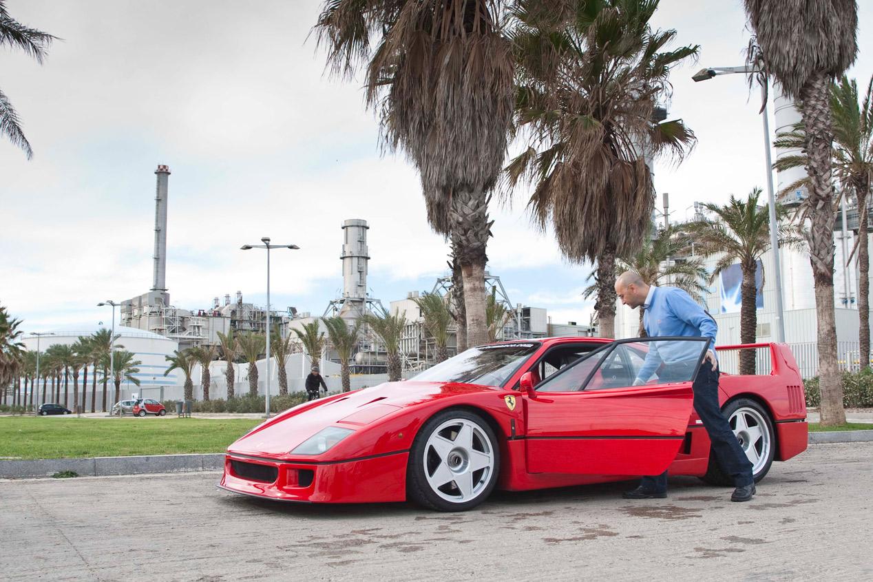 Prueba Ferrari F40