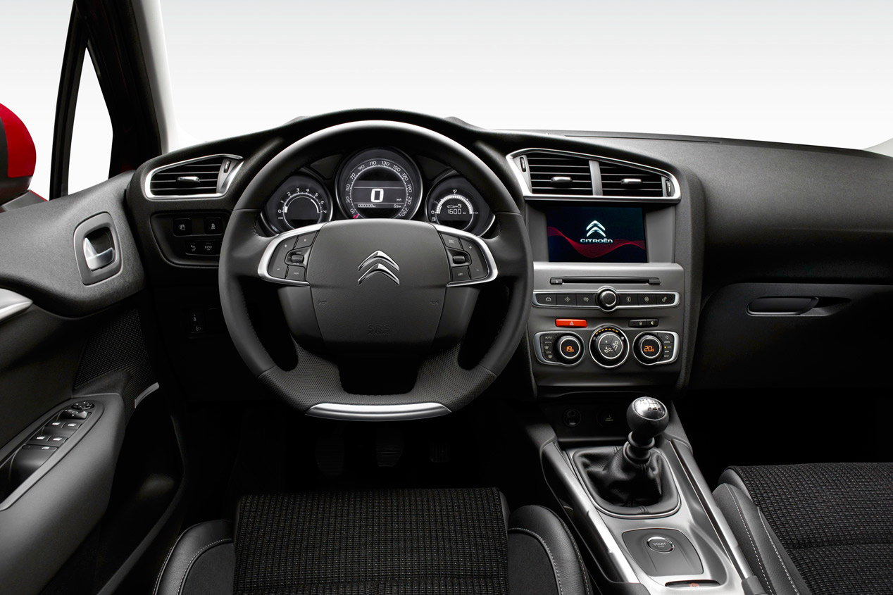 Interior Citroën C4 2015
