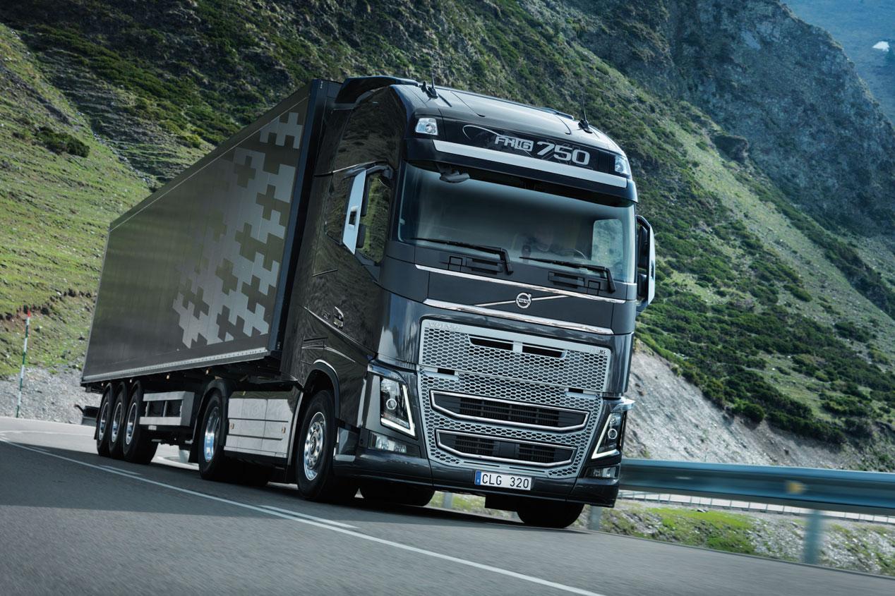 Los 5 camiones con mas potencia en la carretera