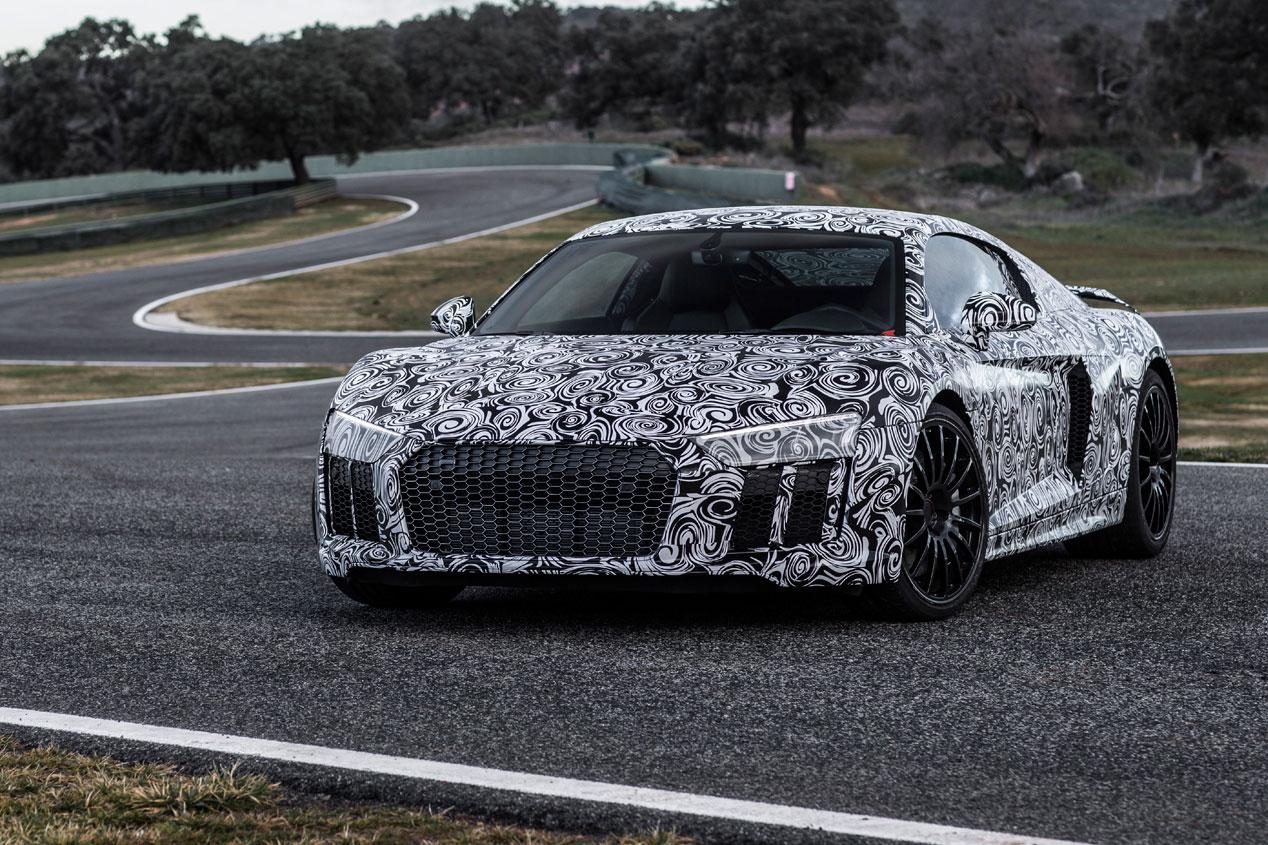 Contacto: Audi R8 2015, en circuito