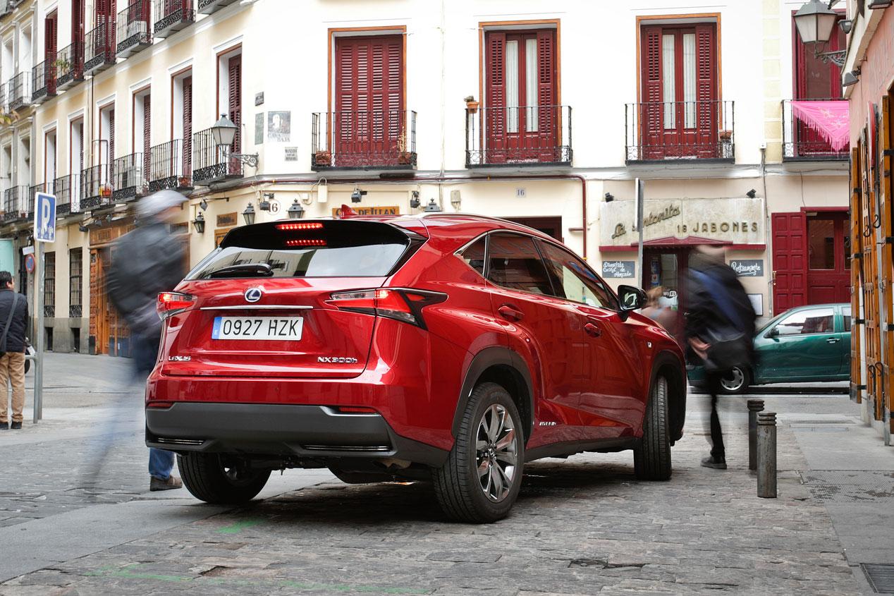 Prueba: Lexus NX 300h Sport, diseño y eficiencia entre los SUV