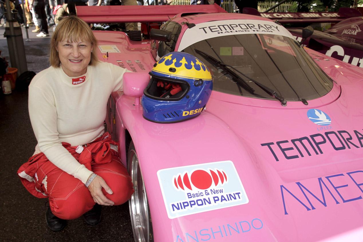 Mujeres piloto en los circuitos
