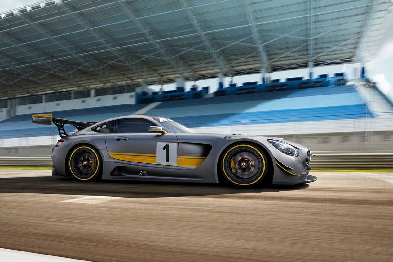 Mercedes-AMG GT3, la versión de carreras para pilotos privados