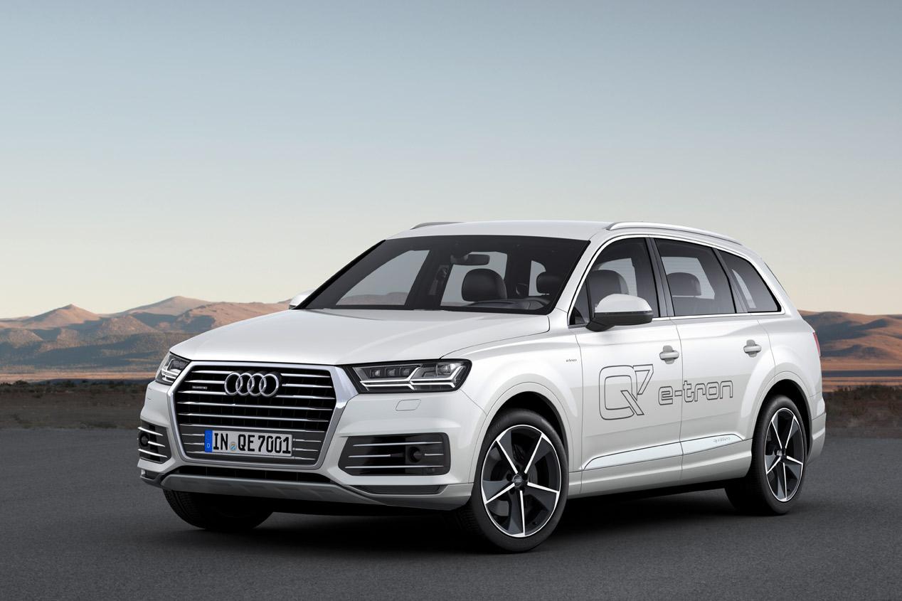 Audi Q7 e-tron 3.0 TDI quattro, SUV híbrido ultra-eficiente