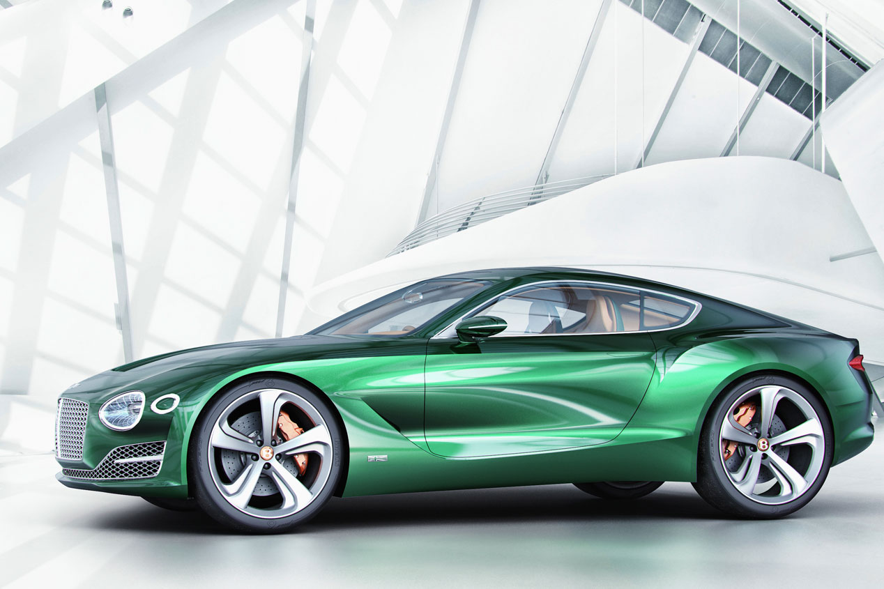 Bentley EXP 10 Speed 6 Concept, expresión de un deseo