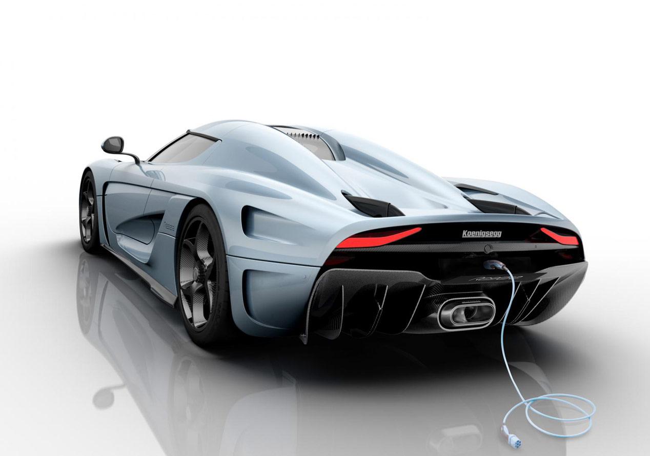 Koenigsegg Regera, el híbrido más rápido del mundo