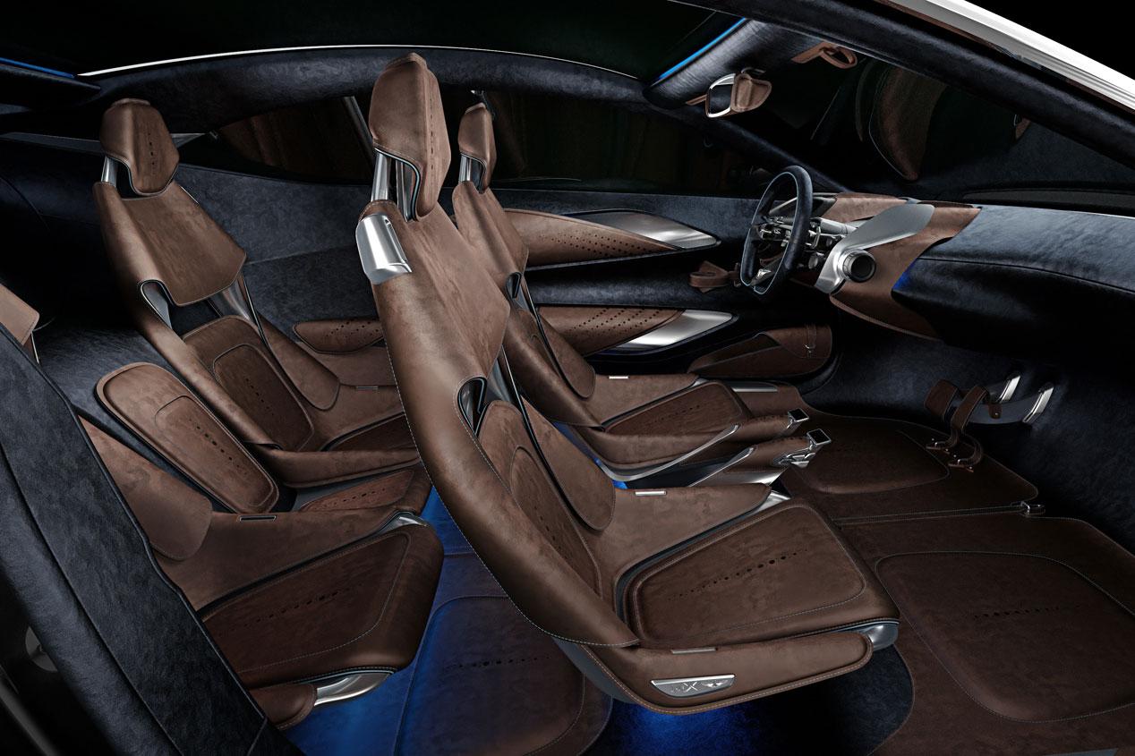 Aston Martin DBX Concept, el GT del futuro
