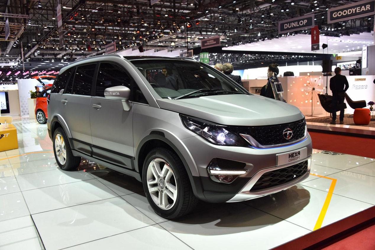 Tata Hexa Concept, ¿antesala del nuevo SUV made in India?