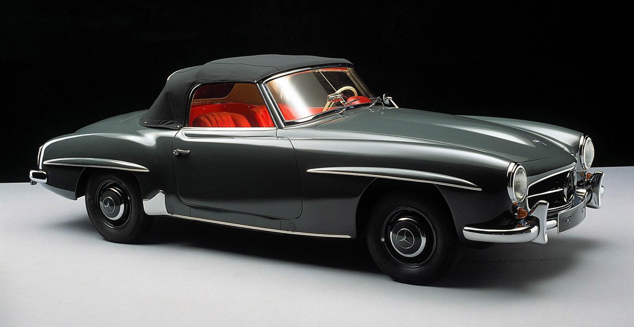 El Mercedes 190 SL cumple 60 años