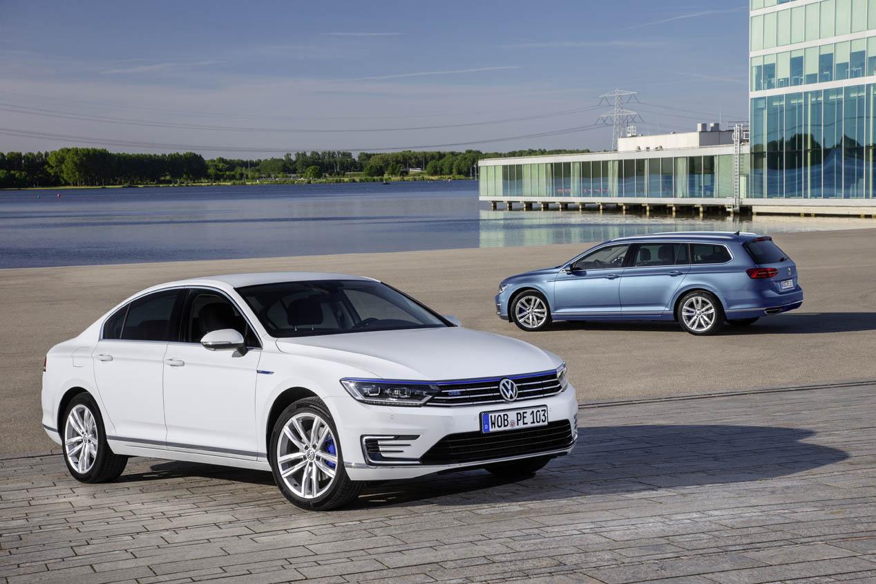 Contacto: Volkswagen Passat GTE, la berlina que menos consume