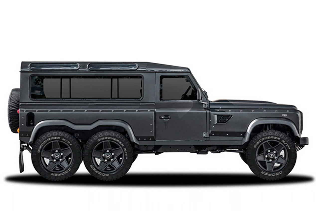 Galer a kahn flying huntsman 6x6 concept 44427 autopista for Mercedes benz 6x6 precio