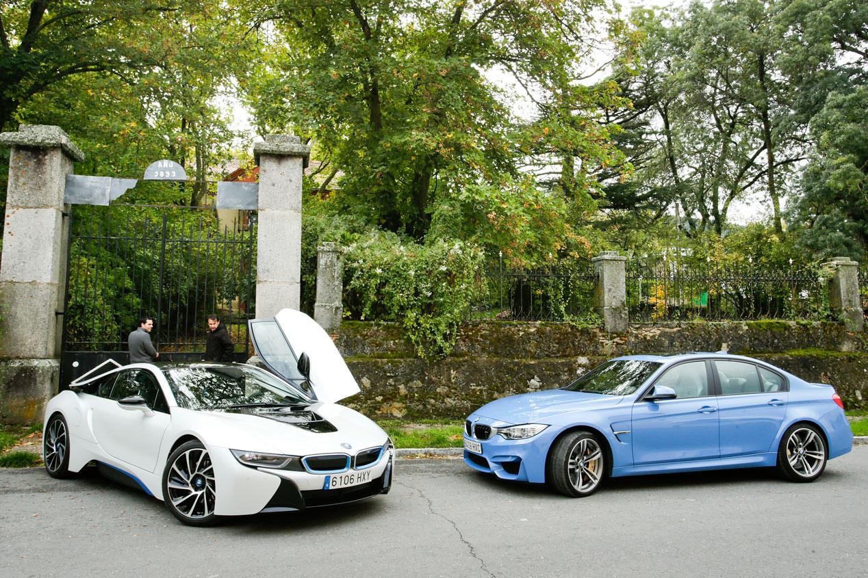 BMW M3 DKG contra BMW i8
