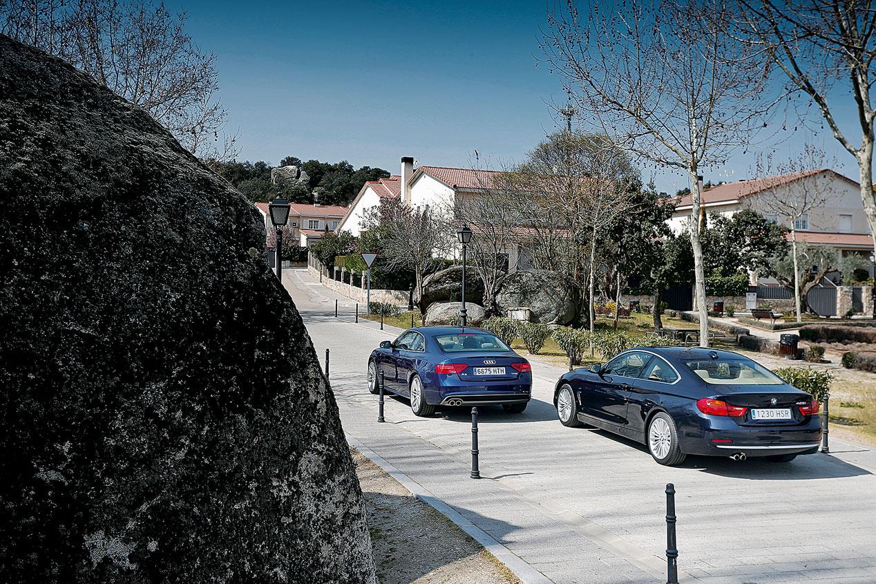 Comparativa: Audi A5 2.0 TFSI vs BMW 428i Coupé