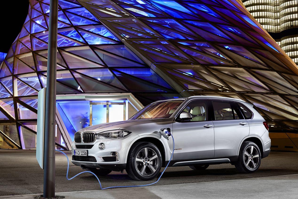 BMW X5 xDrive40e, el X5 híbrido enchufable