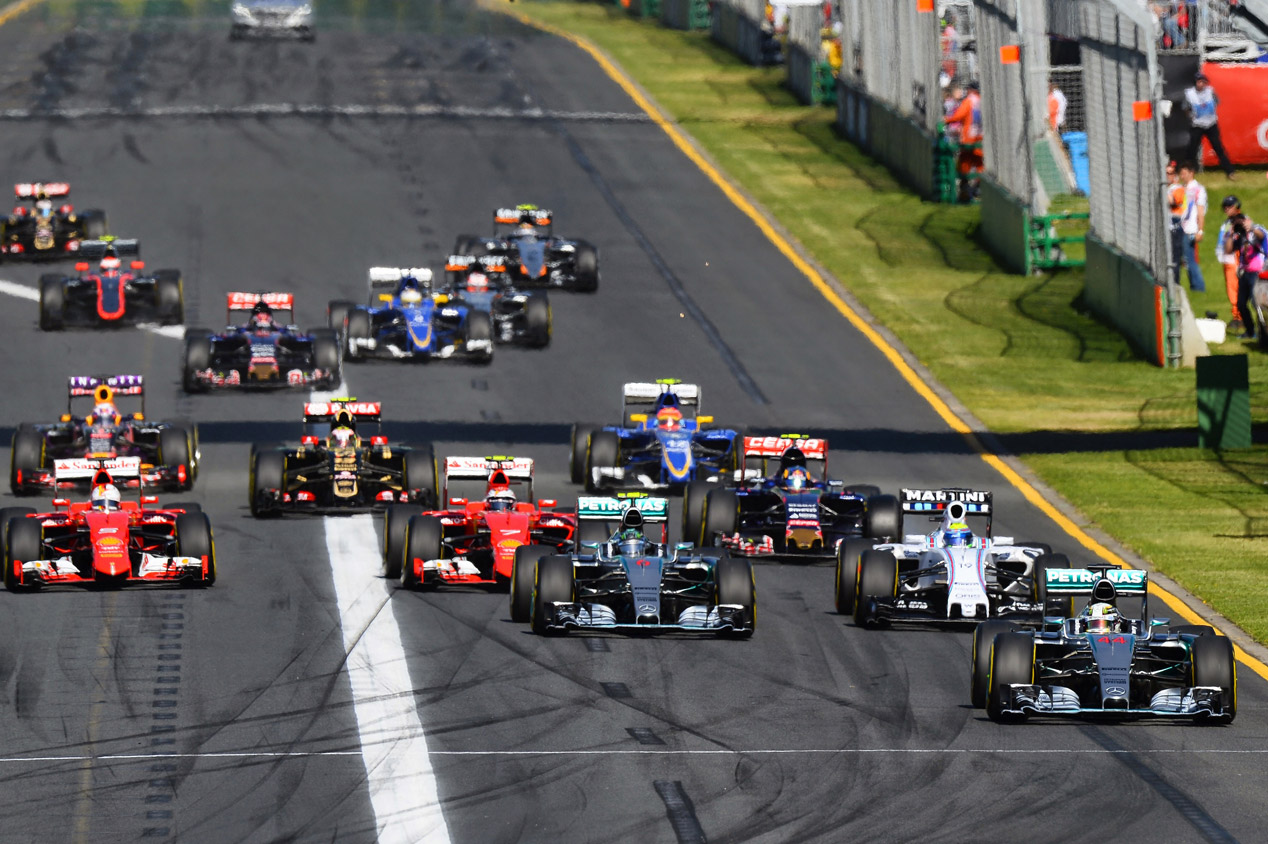 GP Australia 2015: la carrera