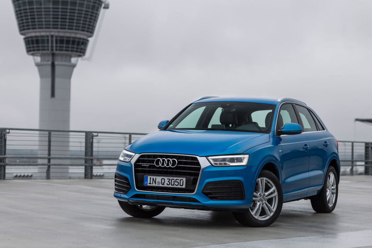 Audi Q3 2015, más equipamiento y más donde elegir
