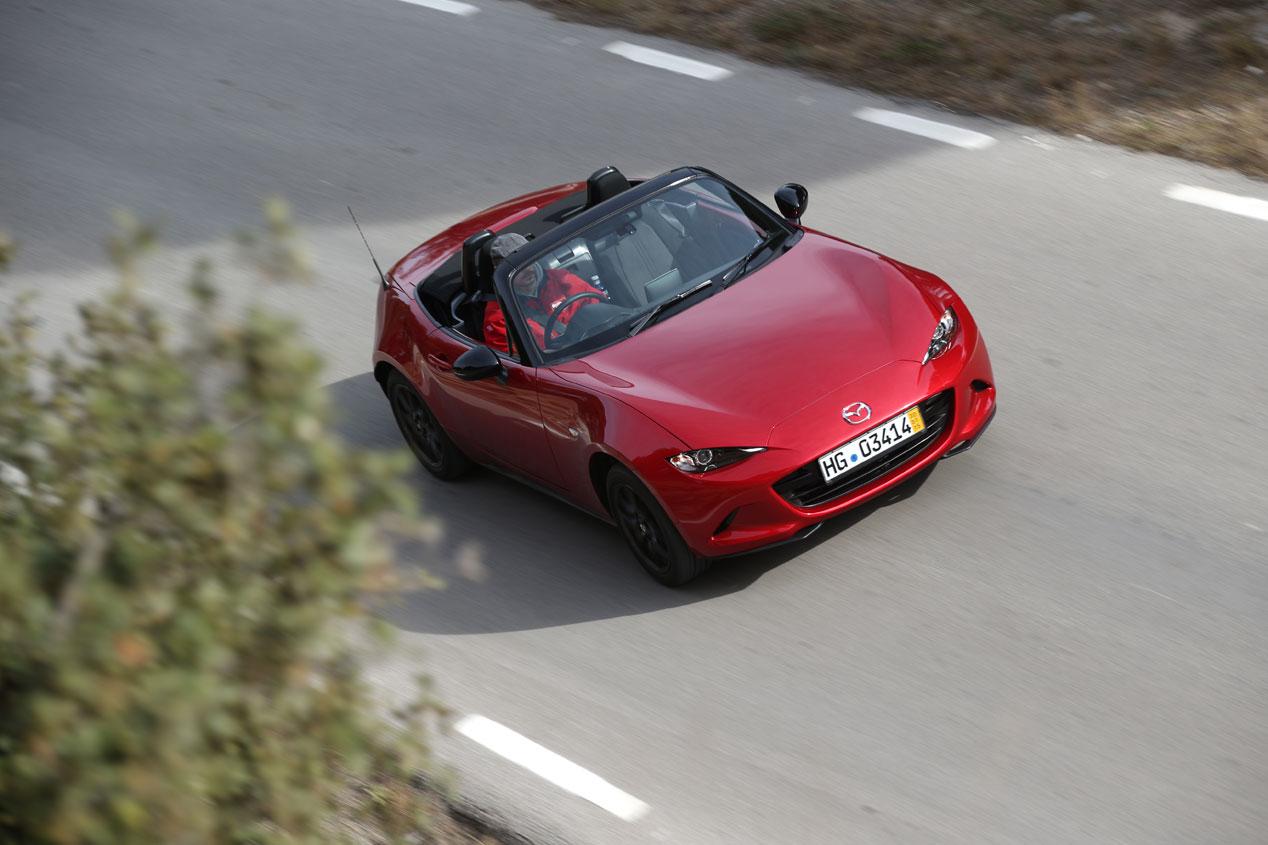 Contacto: nuevo Mazda MX-5, puro placer de conducción