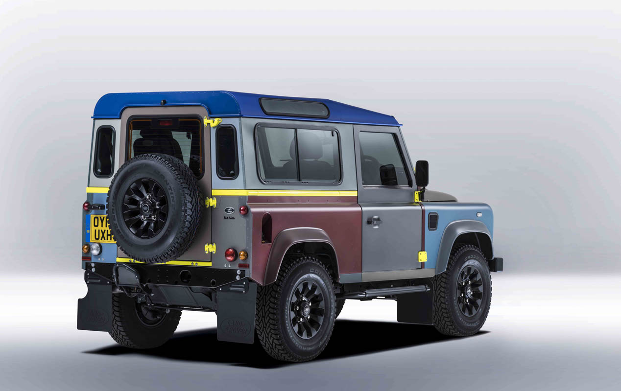 Land Rover Defender de Paul Smith