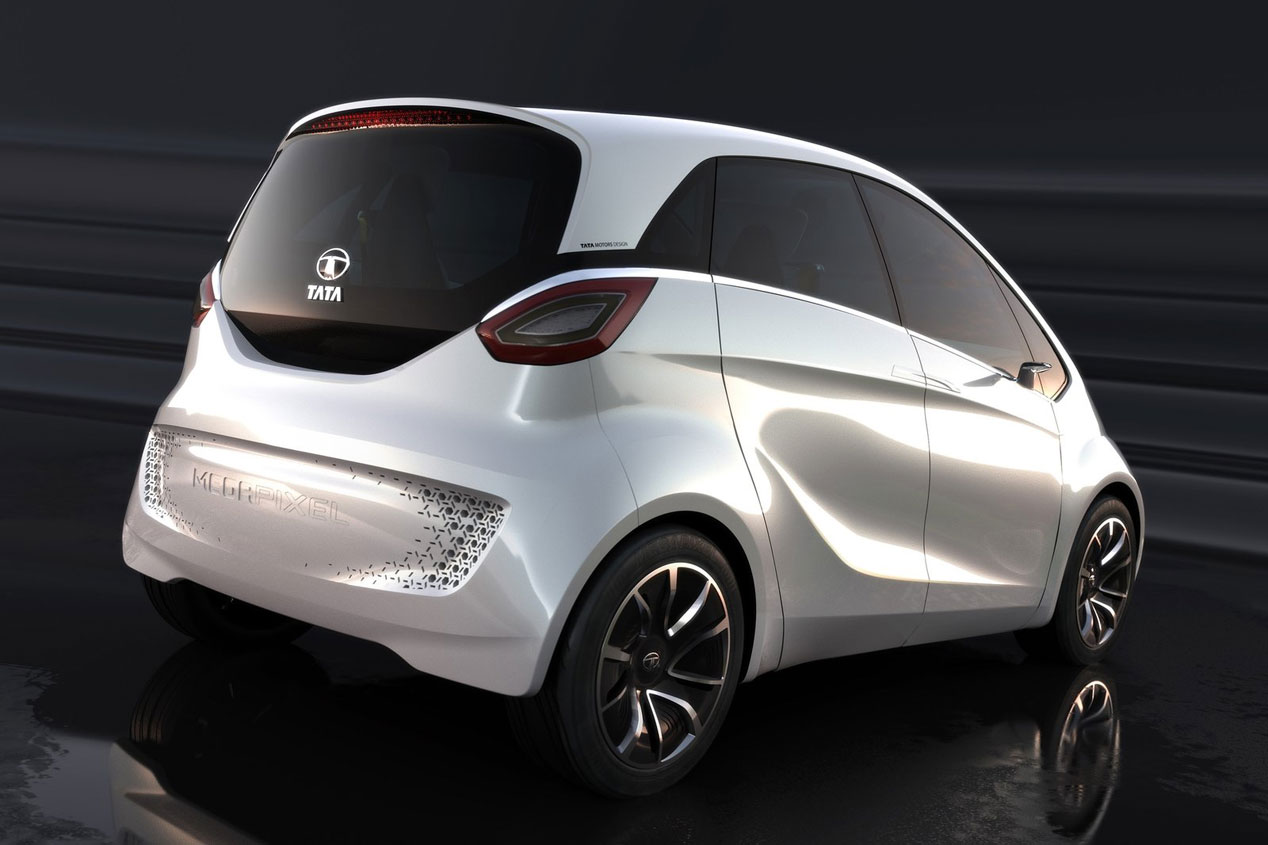 Tata Megapíxel Concept, eléctrico de autonomía extendida