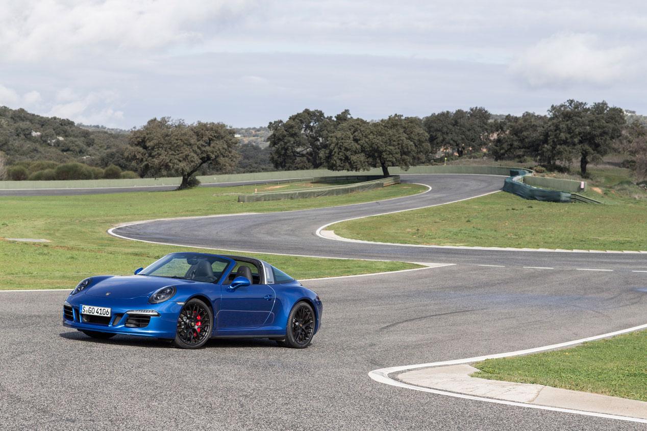 Porsche 911 Targa 4 GTS, puro rock&roll deportivo