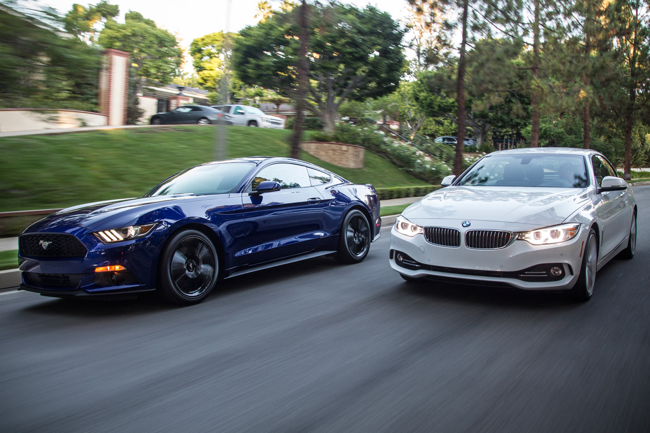 Contacto comparativo: Ford Mustang vs BMW Serie 4