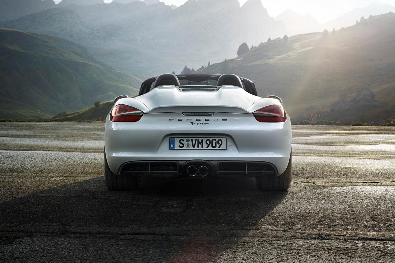 Porsche Boxster Spyder, pura emoción deportiva