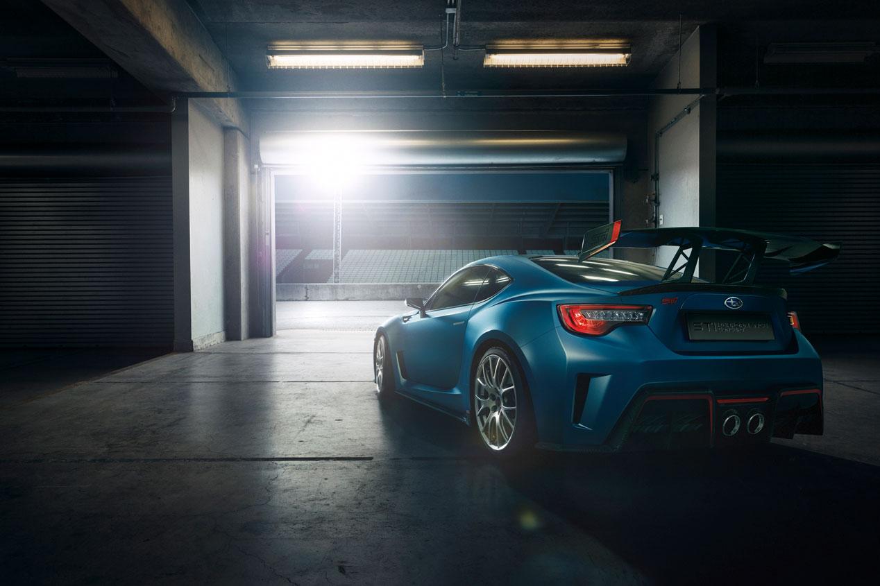 Subaru STI Performance Concept, adrenalina por las nubes