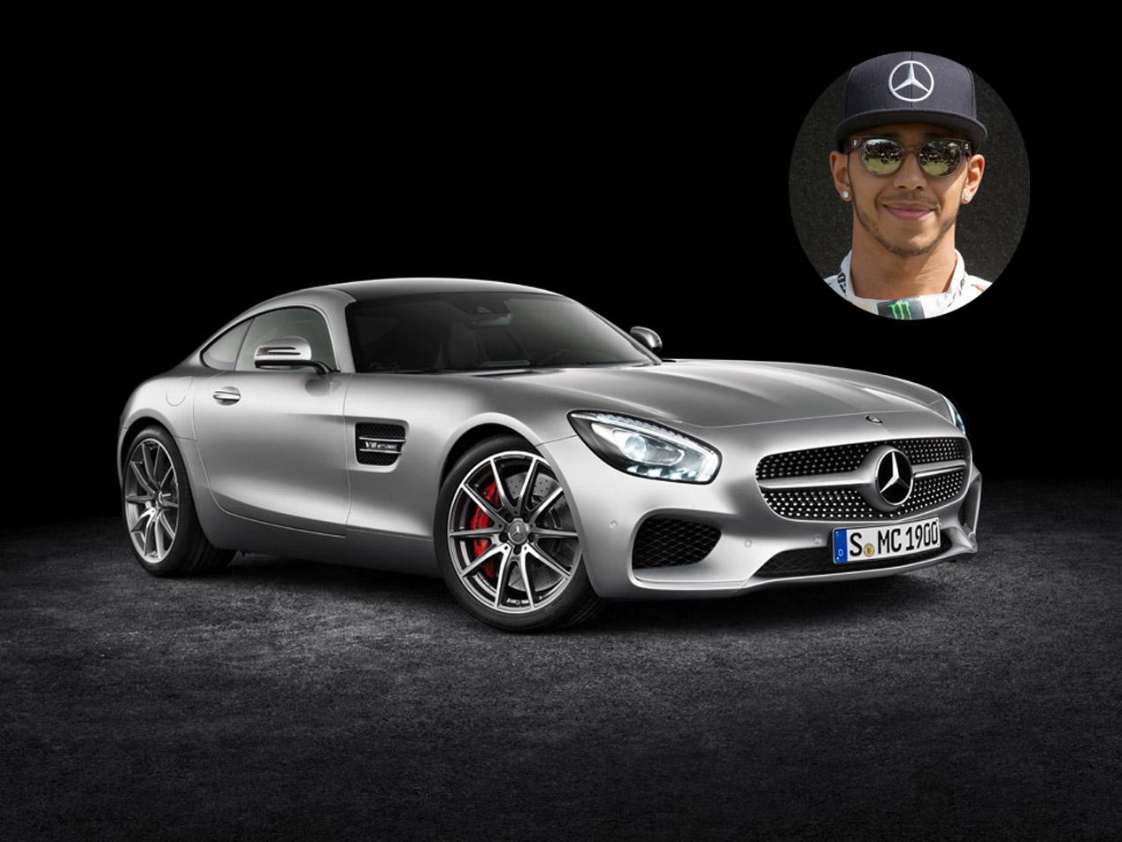 Lewis Hamilton: Mercedes AMG GT S