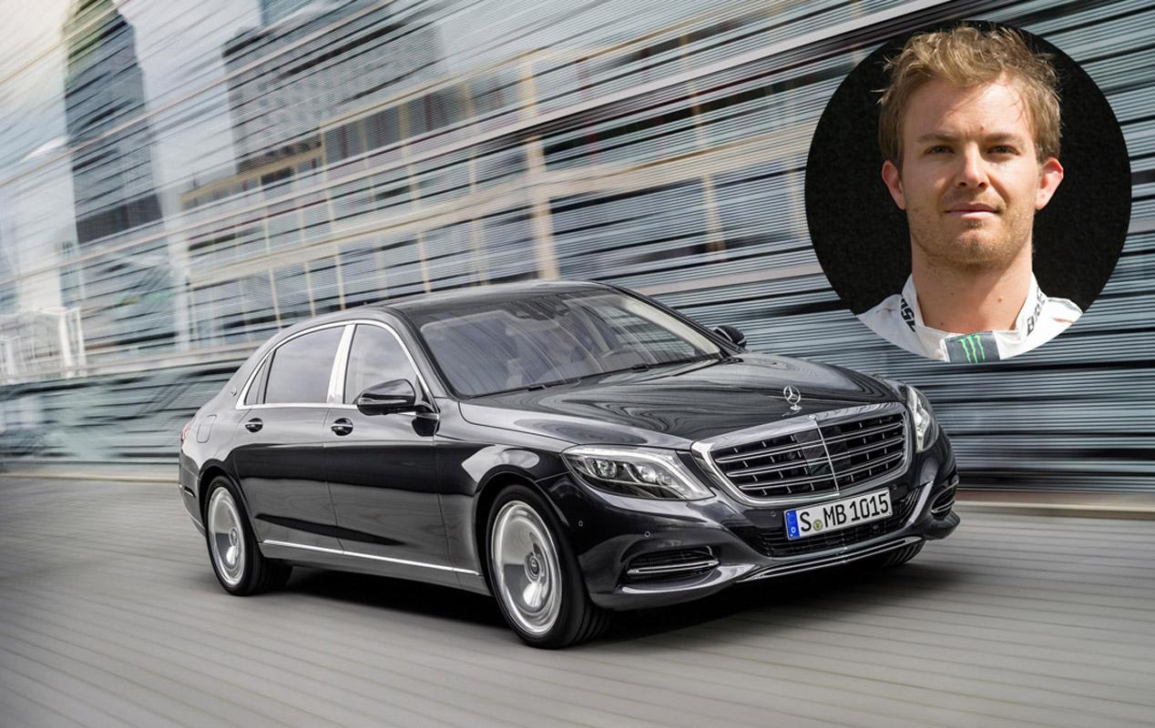Nico Rosberg: Mercedes-Maybach Clase S