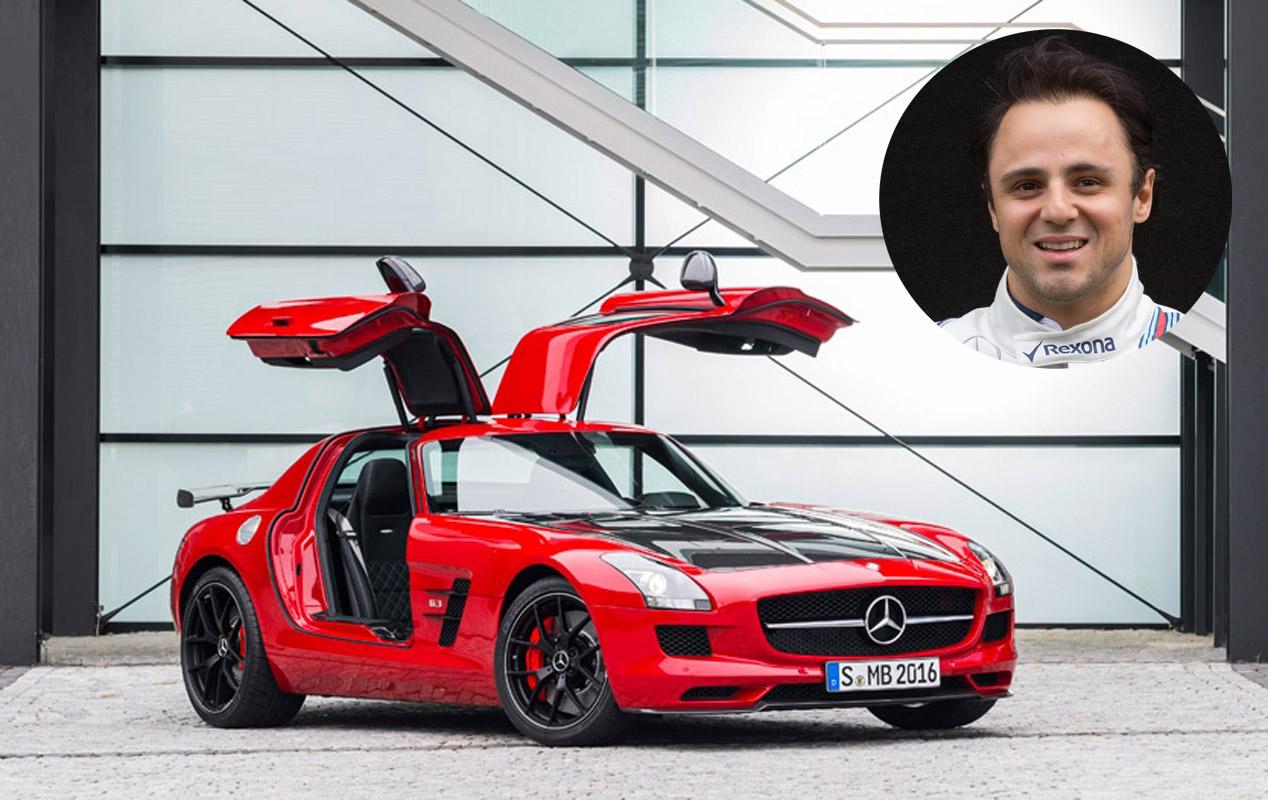 Felipe Massa: Mercedes SLS AMG