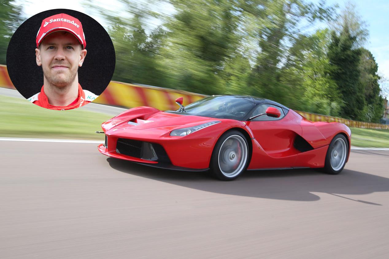 Sebastian Vettel: Ferrari LaFerrari