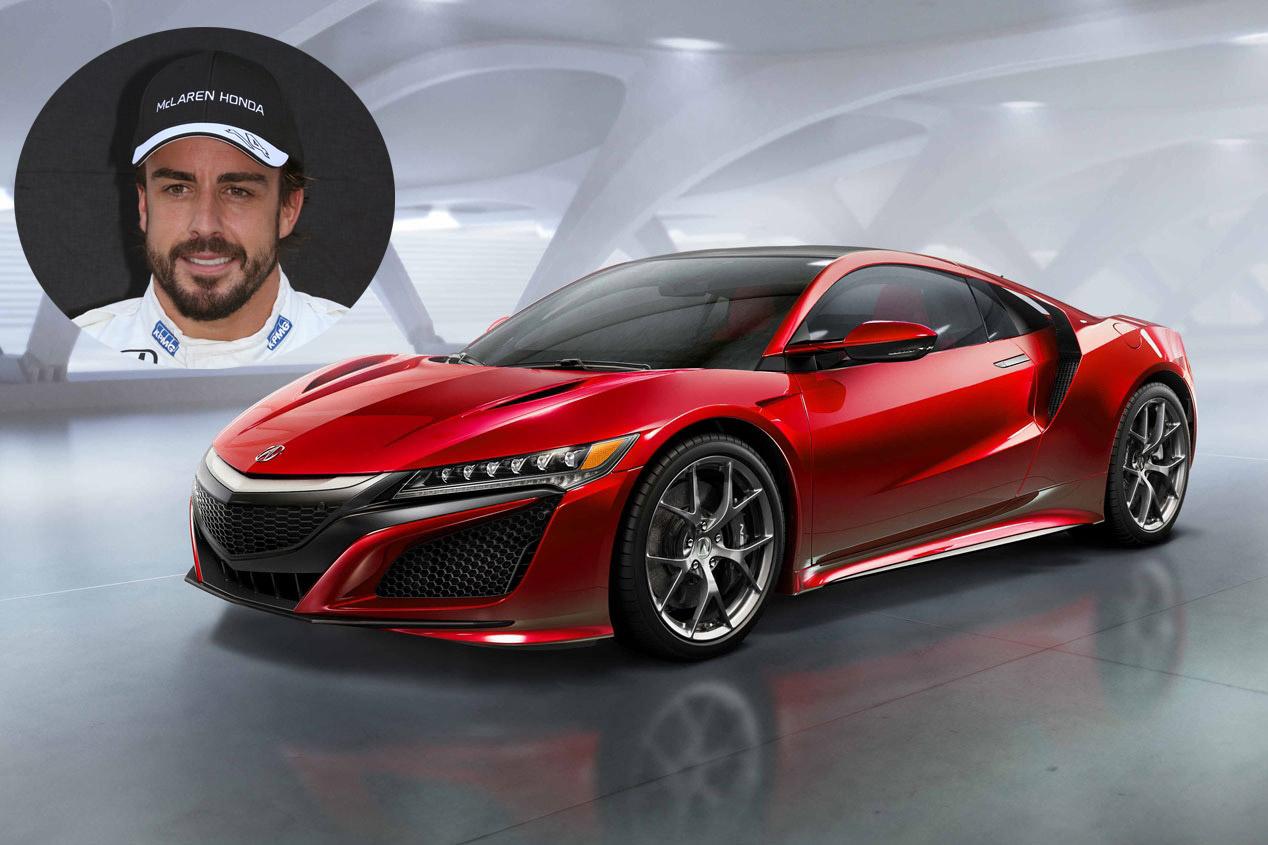 Fernando Alonso: Honda NSX