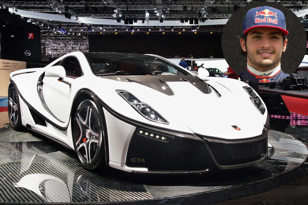 Carlos Sainz: Spania GTA Spano