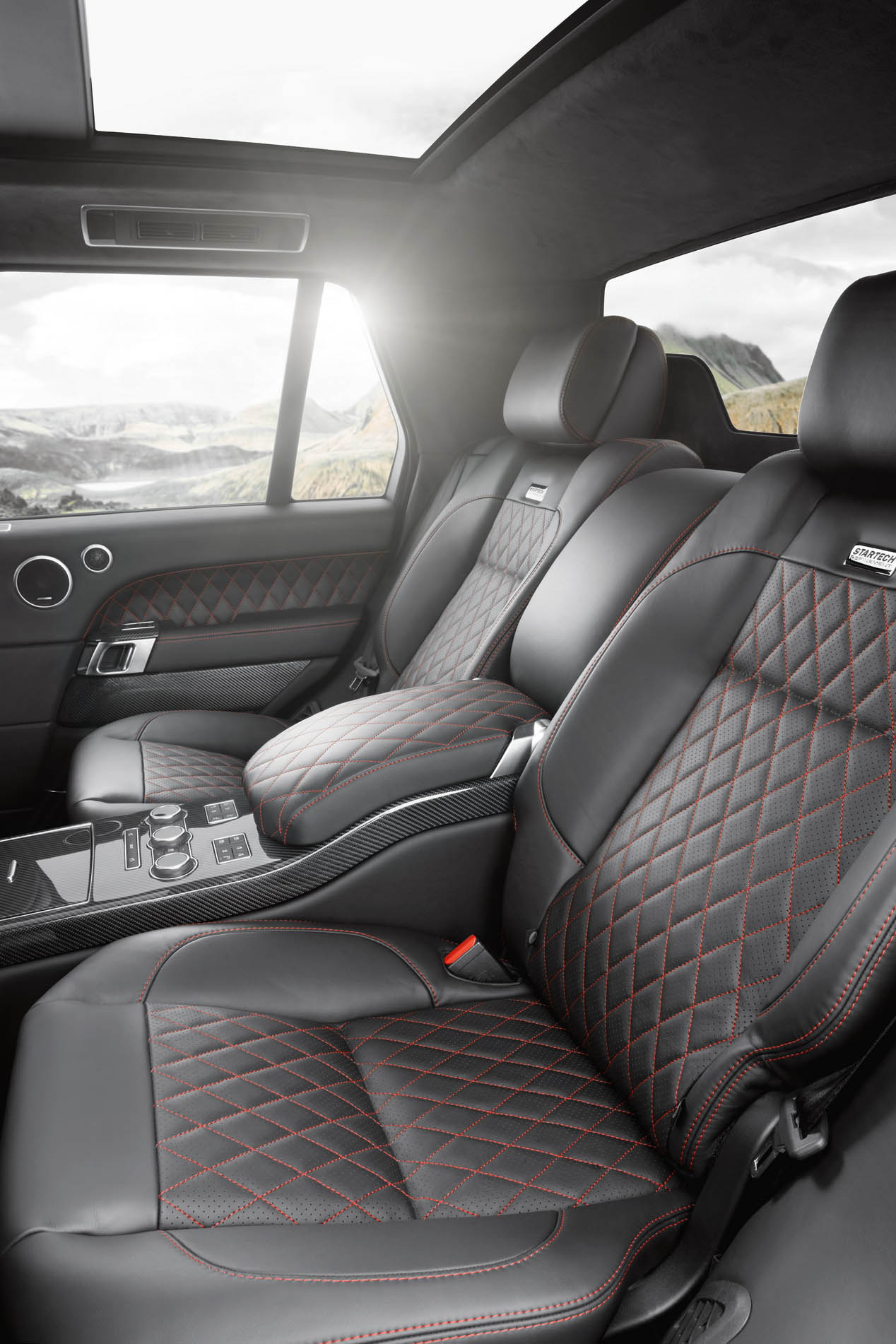 Range Rover pick-up de Startech