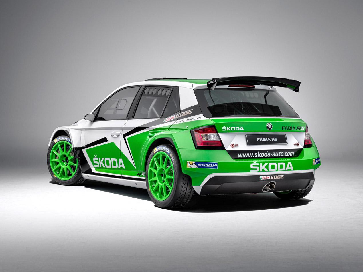 Nuevo Skoda Fabia R5 de rallyes