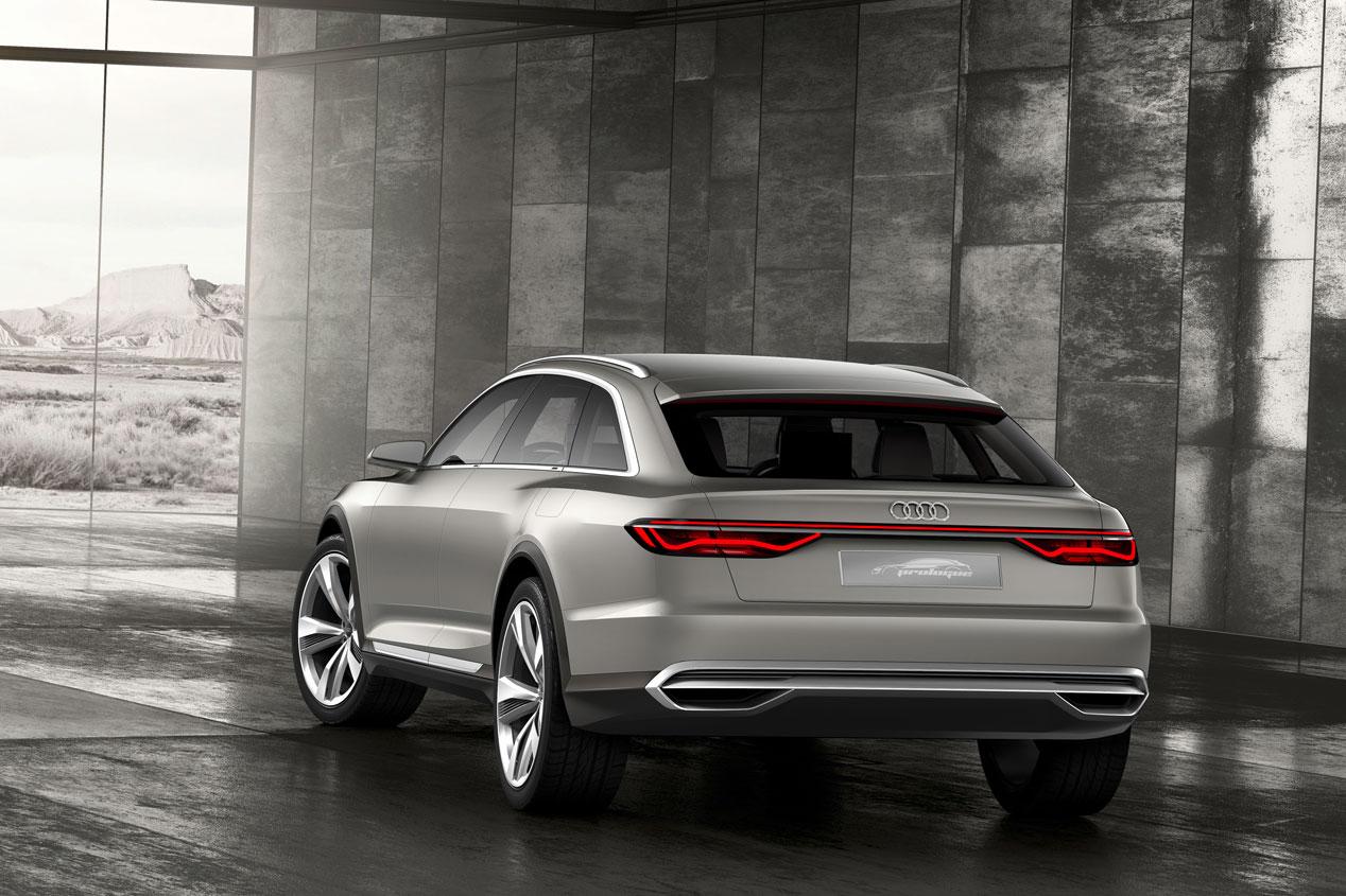 Audi Prologue Allroad: un crossover familiar híbrido