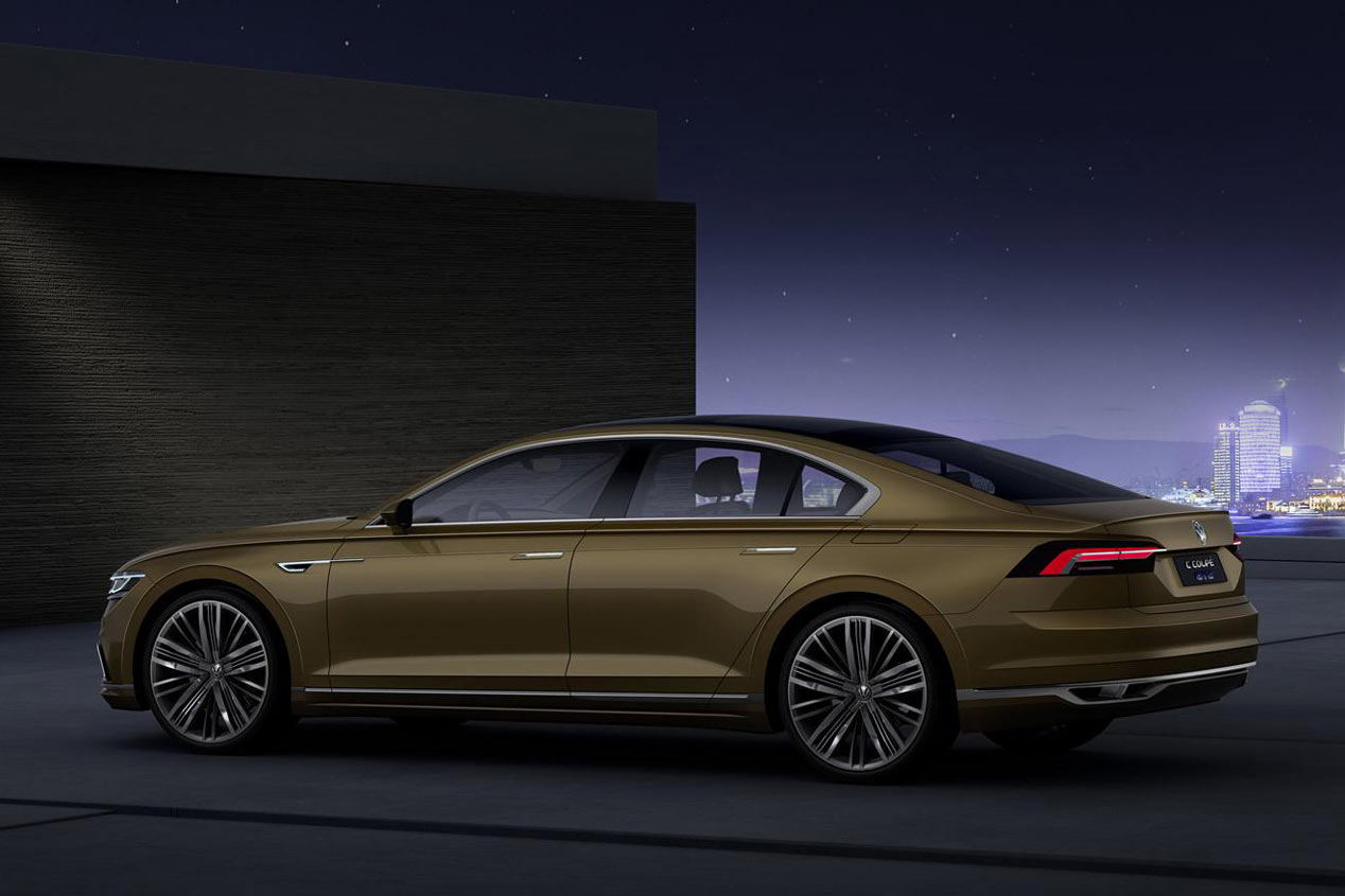 Volkswagen C Coupé GTE Concept, nuevo híbrido enchufable para China