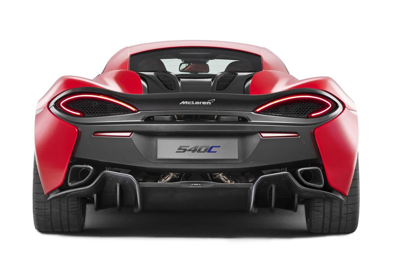 McLaren 540C Coupé, más fiesta deportiva