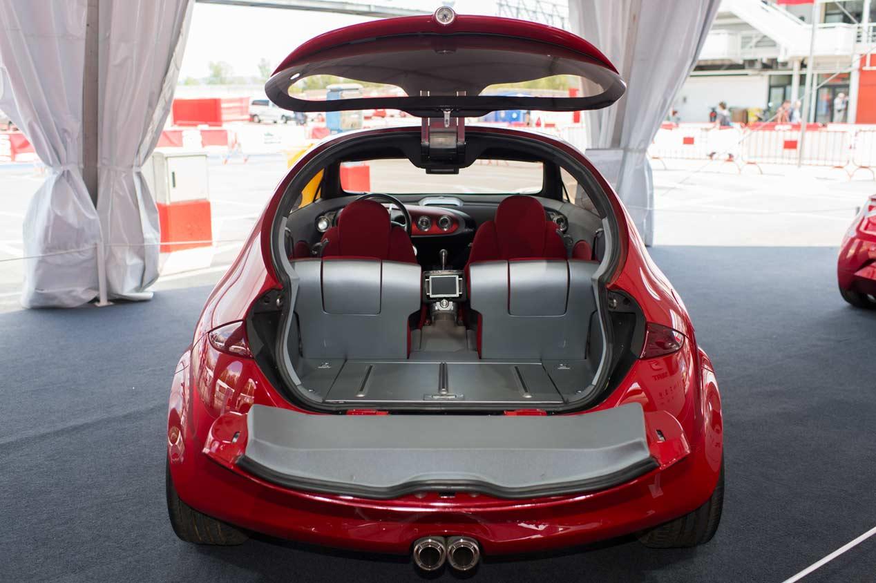 Los prototipos de Seat, de exposición