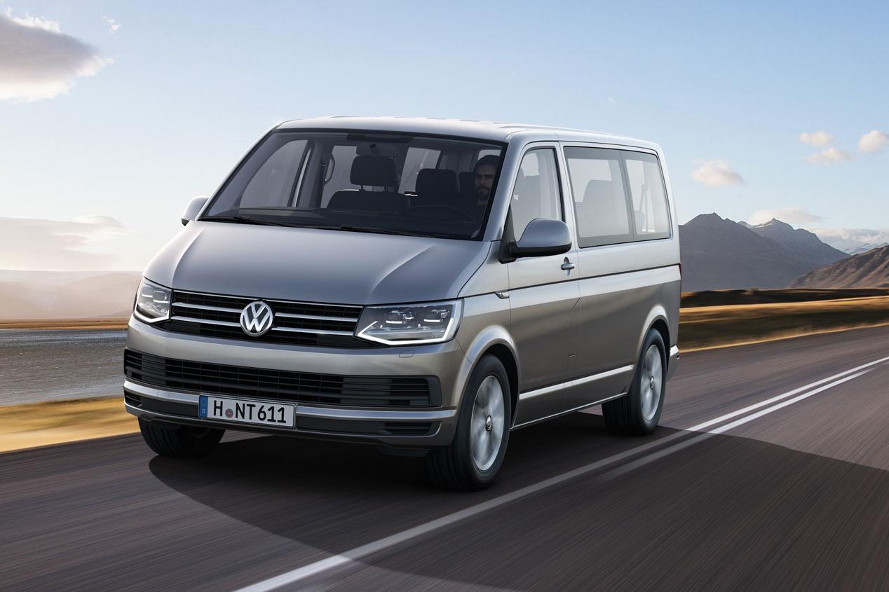 Volkswagen T6, rejuvenecida