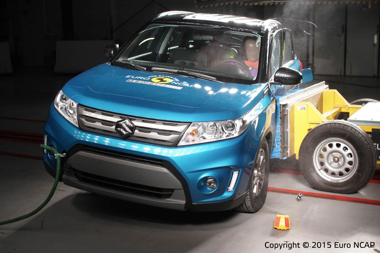 Renault Espace y Suzuki Vitara, 5 estrellas EuroNCAP