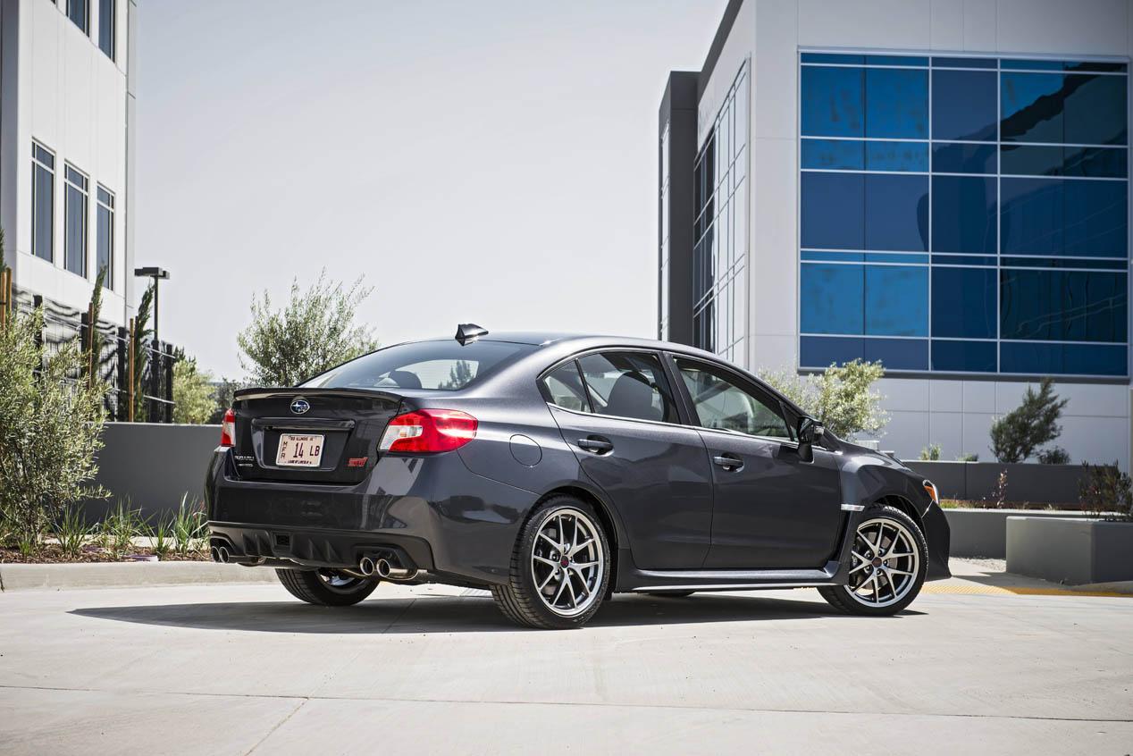 Subaru WRX y WRX STI 2016
