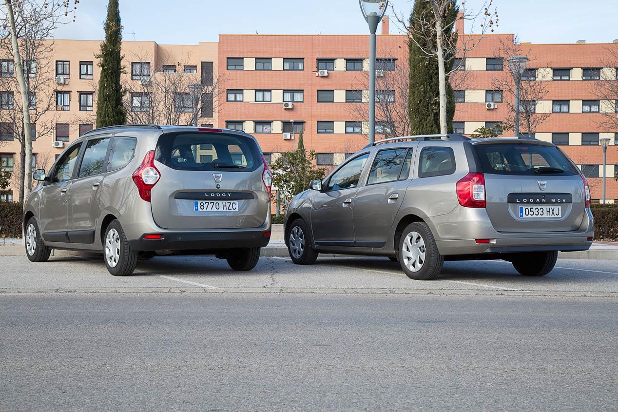 Dacia Lodgy dCi 110 7plz vs Dacia Logan MCV dCi 90