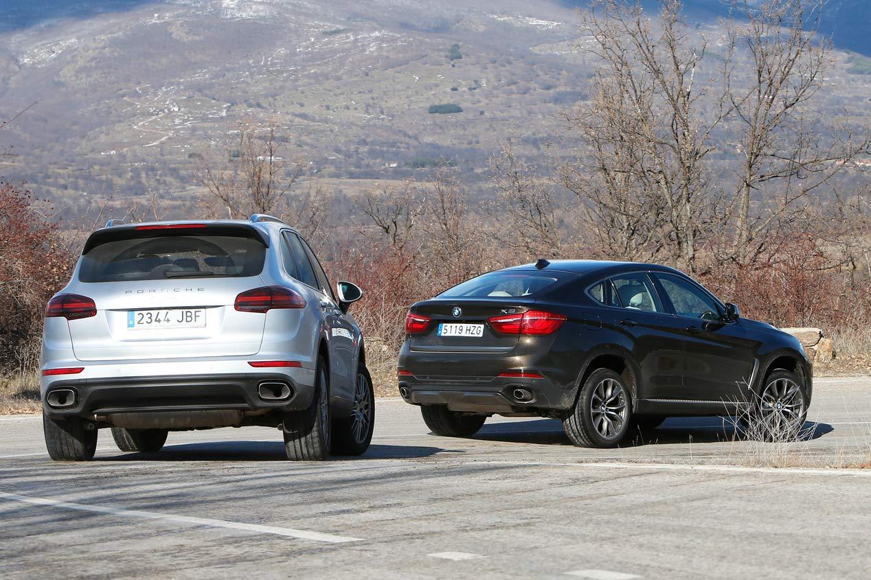 Comparativa Bmw X6 Xdrive 30d Vs Porsche Cayenne Diesel