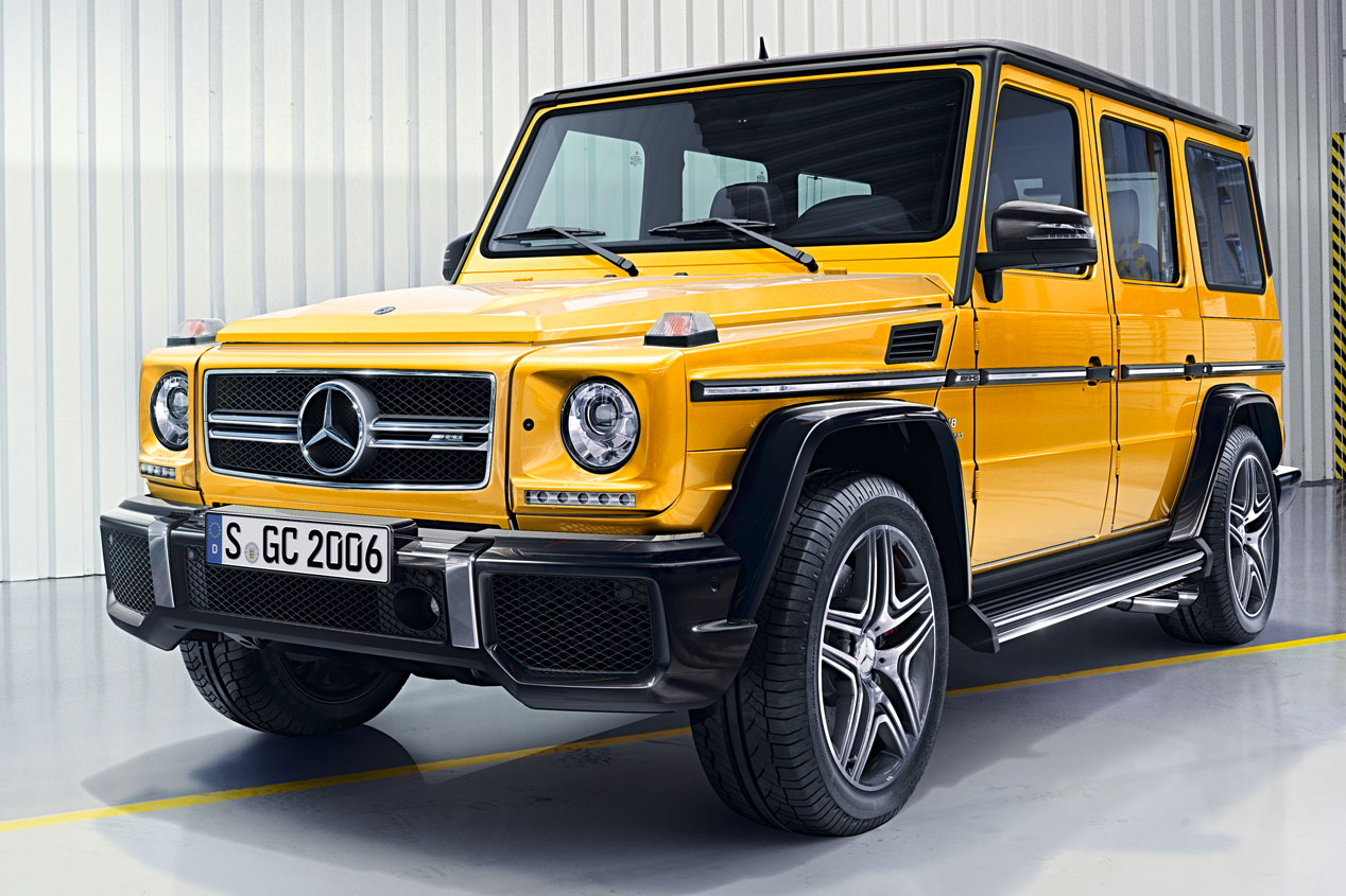 Mercedes Clase G 2015: un tipo duro que se rejuvenece