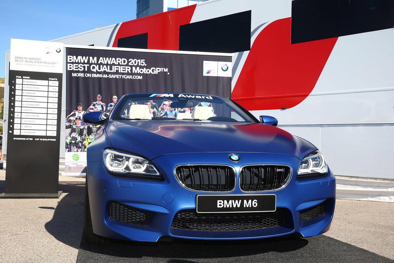 El BMW M6 Cabrio del mejor piloto de MotoGP 2015